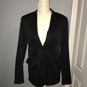 Theory Black Two Button Blazer Medium